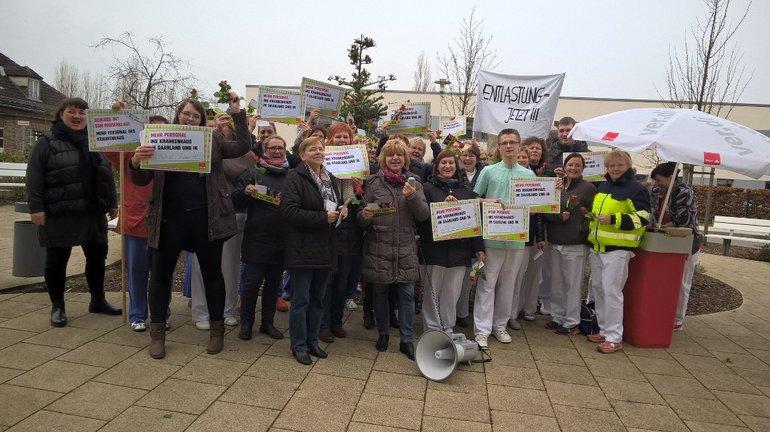 Erfolgreicher Aktionstag im Norden für mehr Personal in den Kliniken