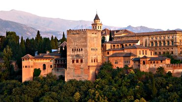 Burg Alhambra/Spanien