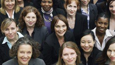 Business Geschäftsfrau Frauen Frauenförderung Karriere Gruppe Team